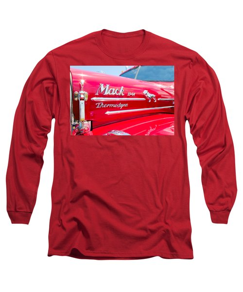 Mack Truck Hood Badges Long Sleeve T-Shirt