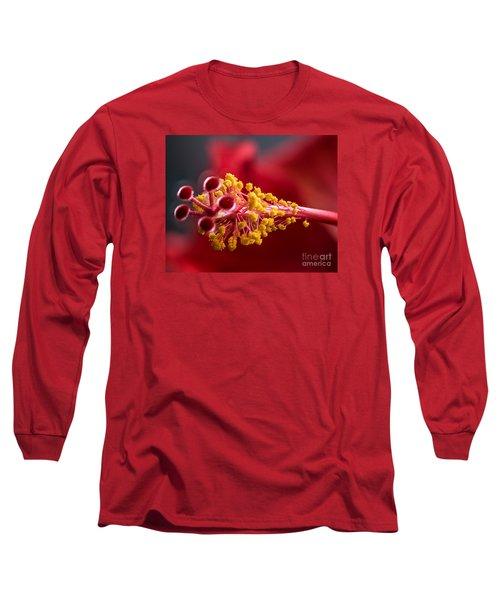 Macro Flower Long Sleeve T-Shirt