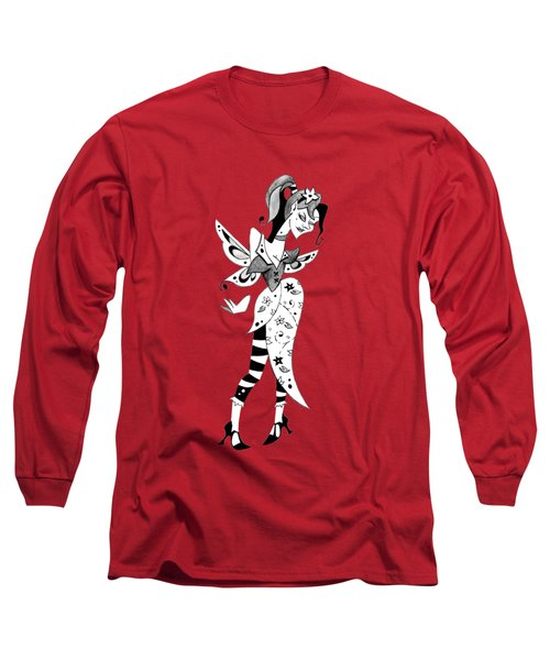 Madame Butterfly - Illustration  Long Sleeve T-Shirt