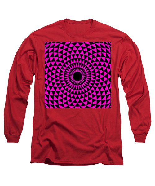 Magenta Balance Long Sleeve T-Shirt