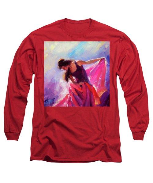 Magenta Long Sleeve T-Shirt