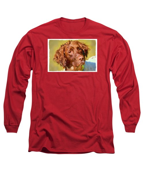 Long Sleeve T-Shirt featuring the photograph Maggie 2  by Constantine Gregory