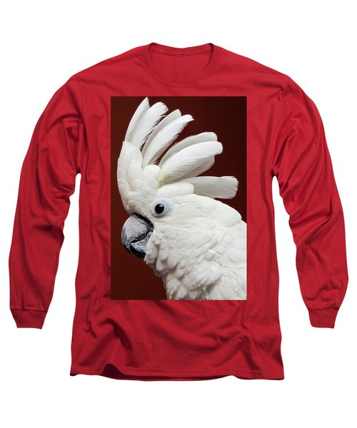 Maggie The Umbrella Cockatoo Long Sleeve T-Shirt