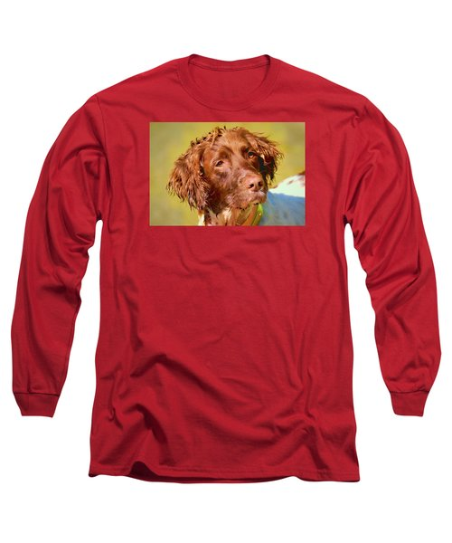 Long Sleeve T-Shirt featuring the photograph Maggie Wc by Constantine Gregory
