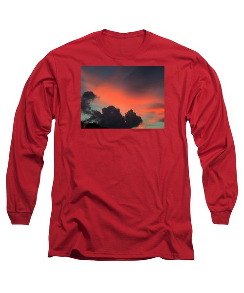 Long Sleeve T-Shirt featuring the photograph Late Day On Paros Island  by Colette V Hera  Guggenheim