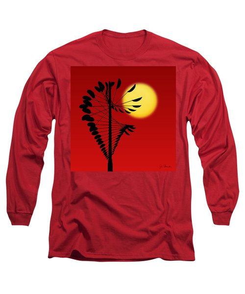 Magical Mobile And Sun Long Sleeve T-Shirt