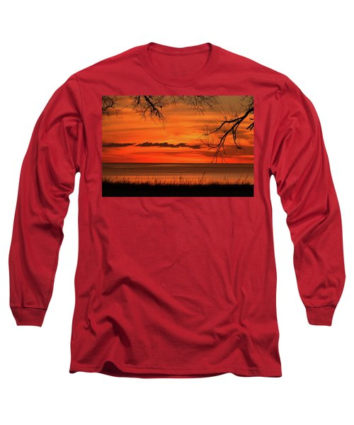 Magical Orange Sunset Sky Long Sleeve T-Shirt