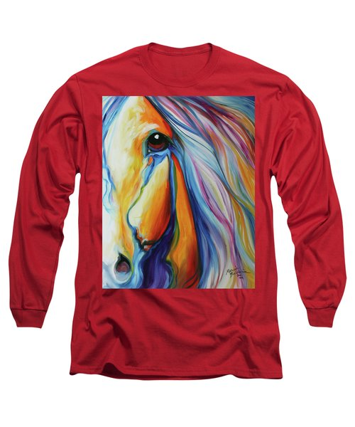 Majestic Equine 2016 Long Sleeve T-Shirt by Marcia Baldwin