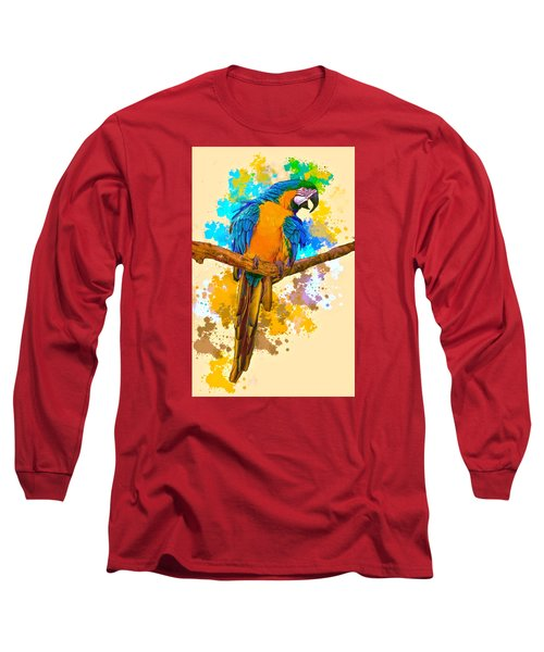 Long Sleeve T-Shirt featuring the photograph Making A Splash by Brian Tarr