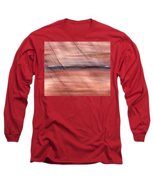 Malibu #32 Seascape Landscape Original Fine Art Acrylic On Canvas Long Sleeve T-Shirt