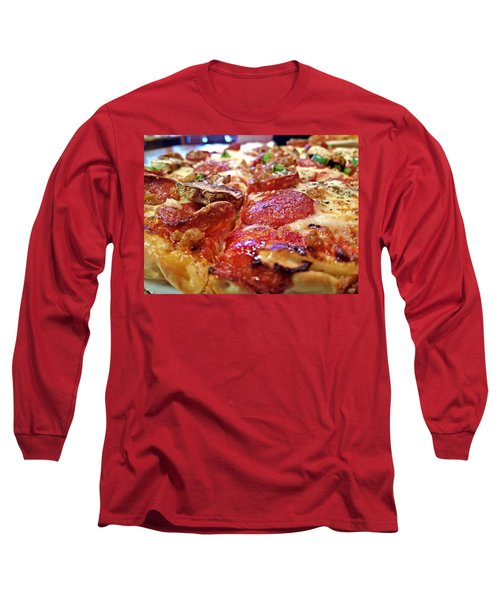 Long Sleeve T-Shirt featuring the photograph Mama Lido's Pizza by Robert Knight