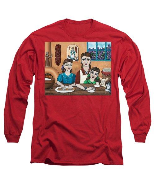 Mamacitas Tortillas Long Sleeve T-Shirt