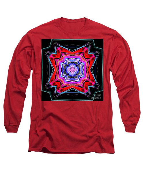 Long Sleeve T-Shirt featuring the digital art Mandala 3325 by Rafael Salazar