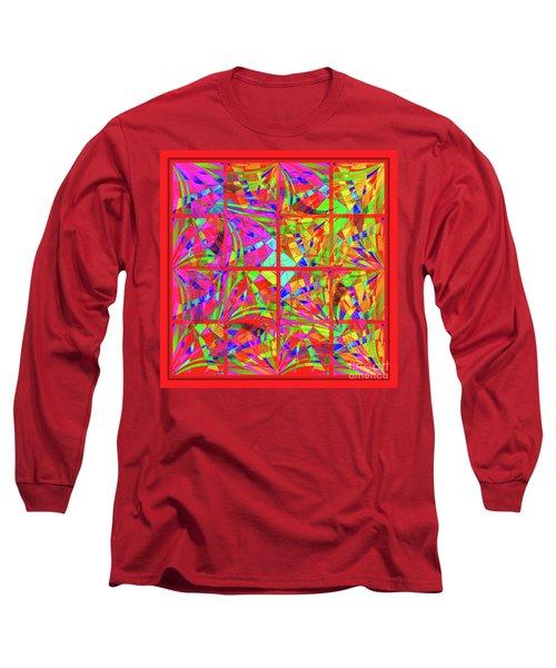 Mandala #48 Long Sleeve T-Shirt by Loko Suederdiek