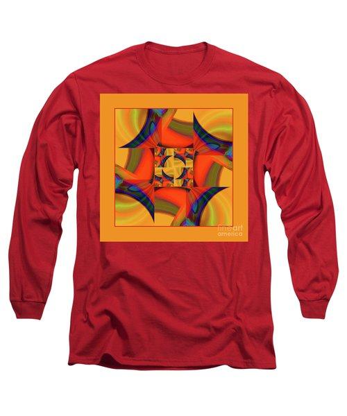 Long Sleeve T-Shirt featuring the digital art Mandala #56 by Loko Suederdiek