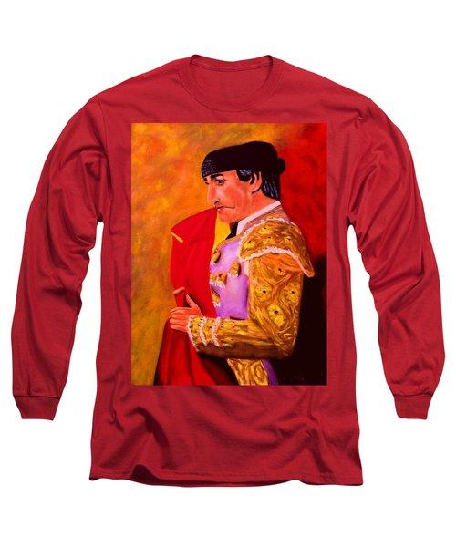 Manolete1 Long Sleeve T-Shirt by Manuel Sanchez