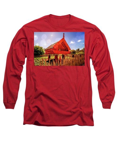 Maori Gathering Place Long Sleeve T-Shirt