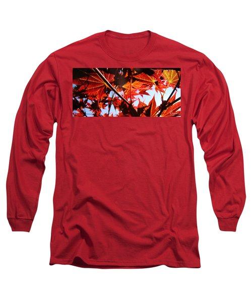Maple Fire Long Sleeve T-Shirt
