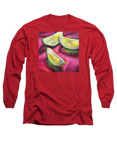 Margarita Limes Long Sleeve T-Shirt by Tracy Male