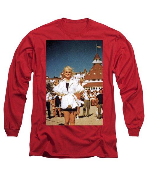 Marilyn And Turrett Long Sleeve T-Shirt
