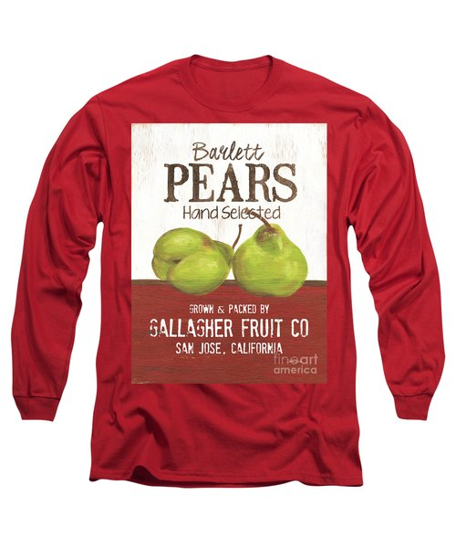 Market Fruit 1 Long Sleeve T-Shirt