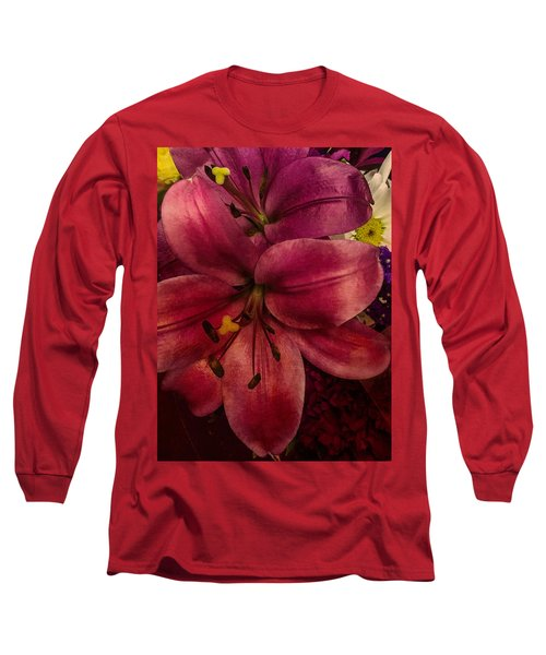 Marsala Lily Long Sleeve T-Shirt