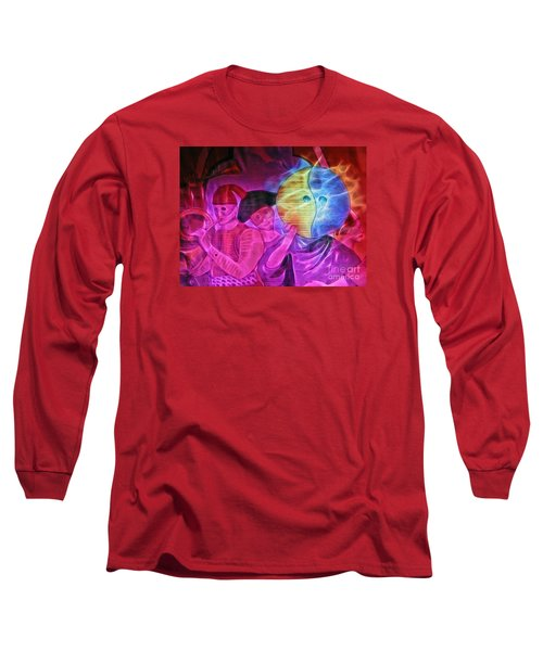 Long Sleeve T-Shirt featuring the photograph Masquerade by Sue Melvin