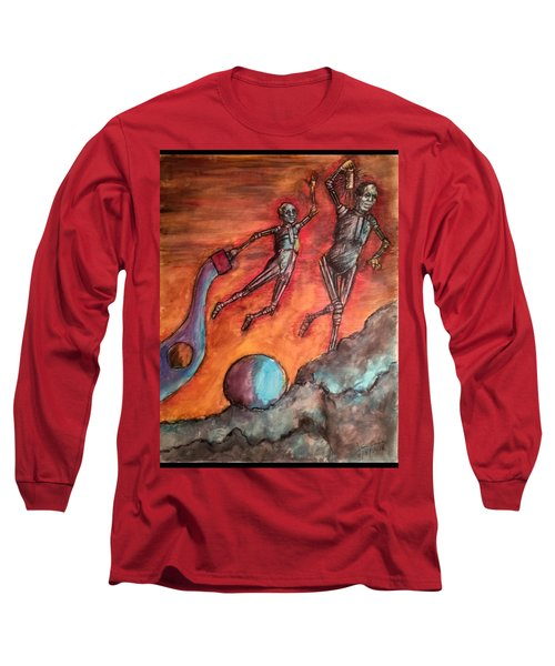 Master Minds Of Mars, The Voices Of Time Long Sleeve T-Shirt