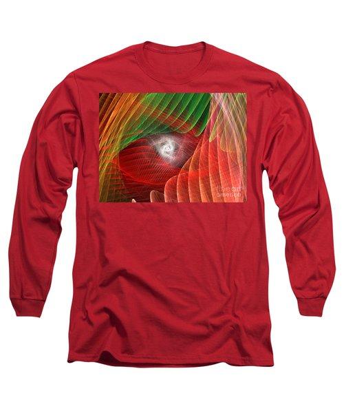 Matrix Long Sleeve T-Shirt by Kim Sy Ok