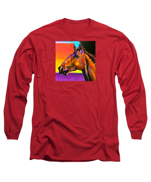 Long Sleeve T-Shirt featuring the painting Maurice by Bob Coonts