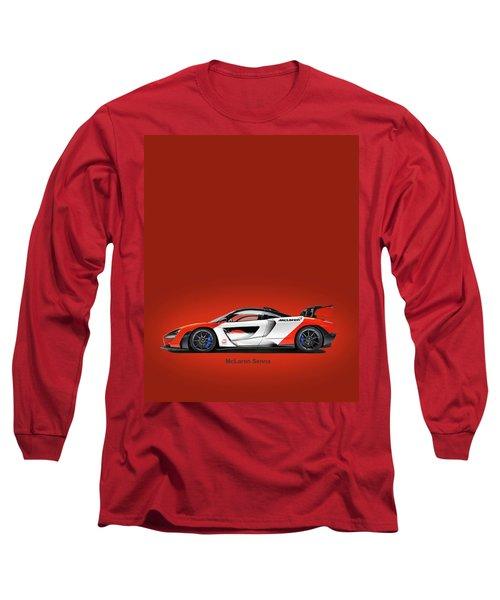 Mclaren Senna Long Sleeve T-Shirt