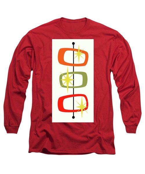 Mcm Shapes 1 Long Sleeve T-Shirt