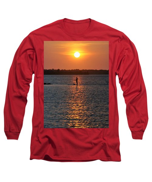 Long Sleeve T-Shirt featuring the photograph Me Time by John Glass