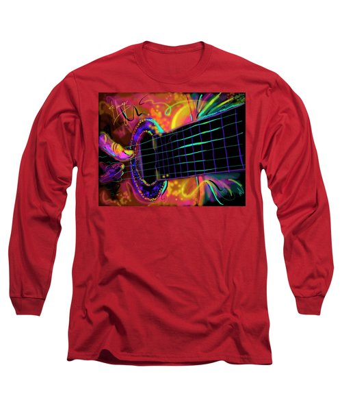 Medianoche Long Sleeve T-Shirt by DC Langer