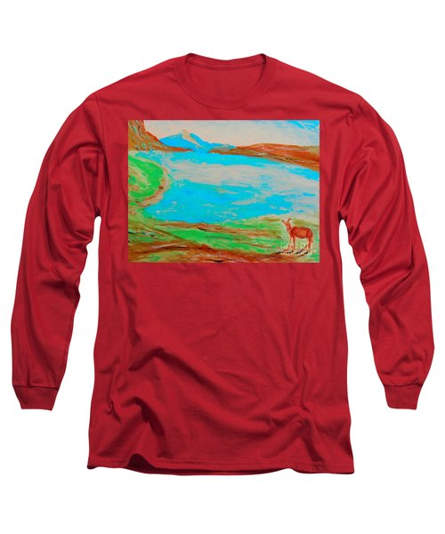 Medicine Lake Long Sleeve T-Shirt