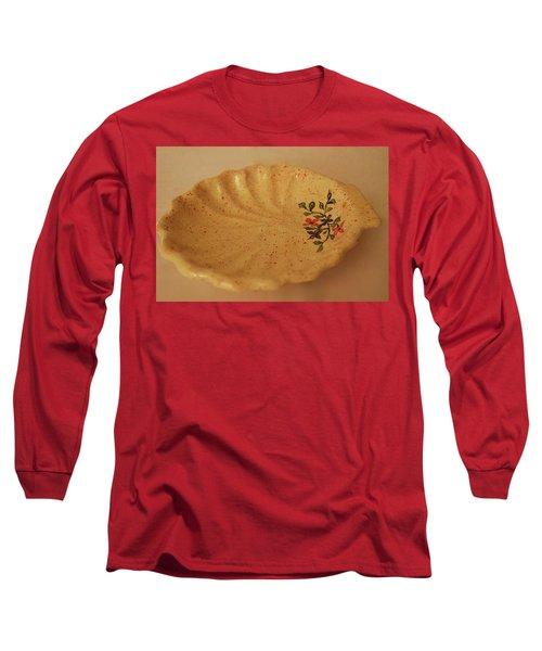 Medium Shell Plate Long Sleeve T-Shirt by Itzhak Richter