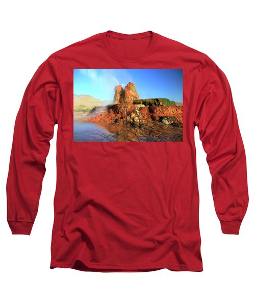 Meet The Fly Geyser Long Sleeve T-Shirt