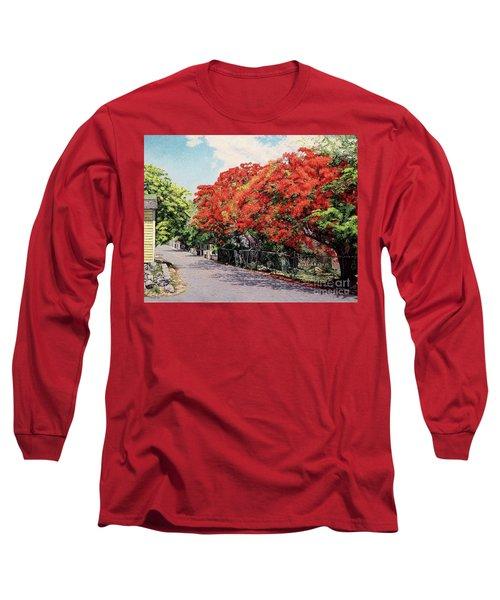 Meeting And Nassau Street Long Sleeve T-Shirt