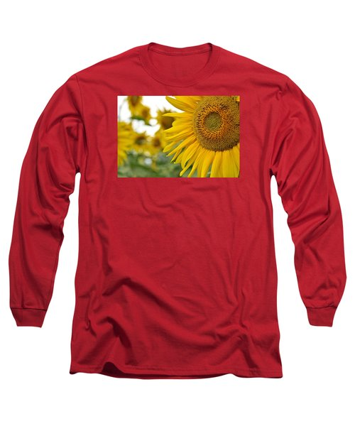 Mellow Yellow Long Sleeve T-Shirt by Joanne Brown