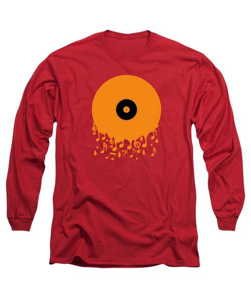 Melting Music Long Sleeve T-Shirt