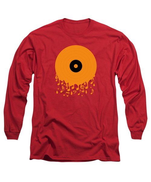 Melting Music Long Sleeve T-Shirt