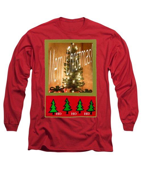 Merry Christmas Hohoho Long Sleeve T-Shirt