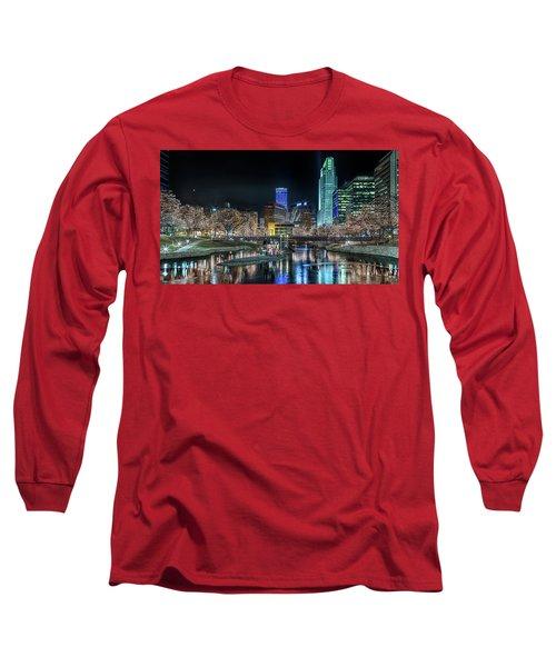 Merry Christmas Omaha Long Sleeve T-Shirt