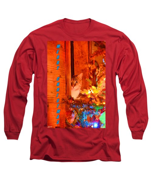 Merry Christmas Waiting For Santa Long Sleeve T-Shirt