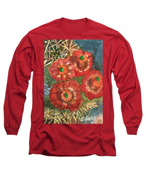 Mexican Pincushion Long Sleeve T-Shirt by Eric Samuelson