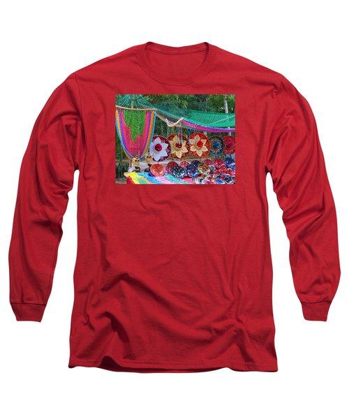 Mexico Sombrero Long Sleeve T-Shirt