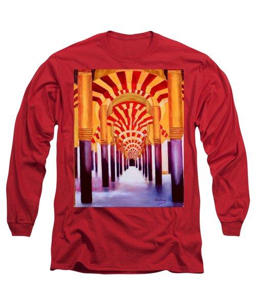 Mezquita De Cordoba Long Sleeve T-Shirt by Manuel Sanchez