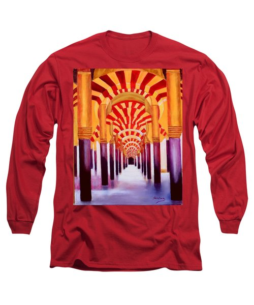 Mezquita De Cordoba Long Sleeve T-Shirt