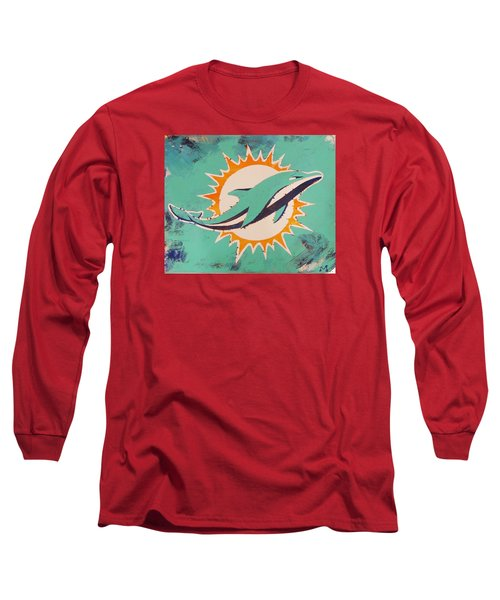 Miami Dolphins Long Sleeve T-Shirt