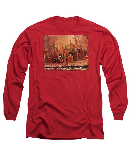 Mid Town Long Sleeve T-Shirt by John Stuart Webbstock